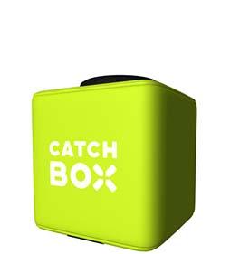 Draadloze Microfoon / Catchbox huren overijssel