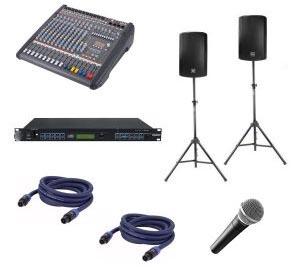 geluid presentatieset huren - set 1