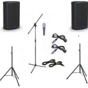 geluid presentatieset huren - set 3