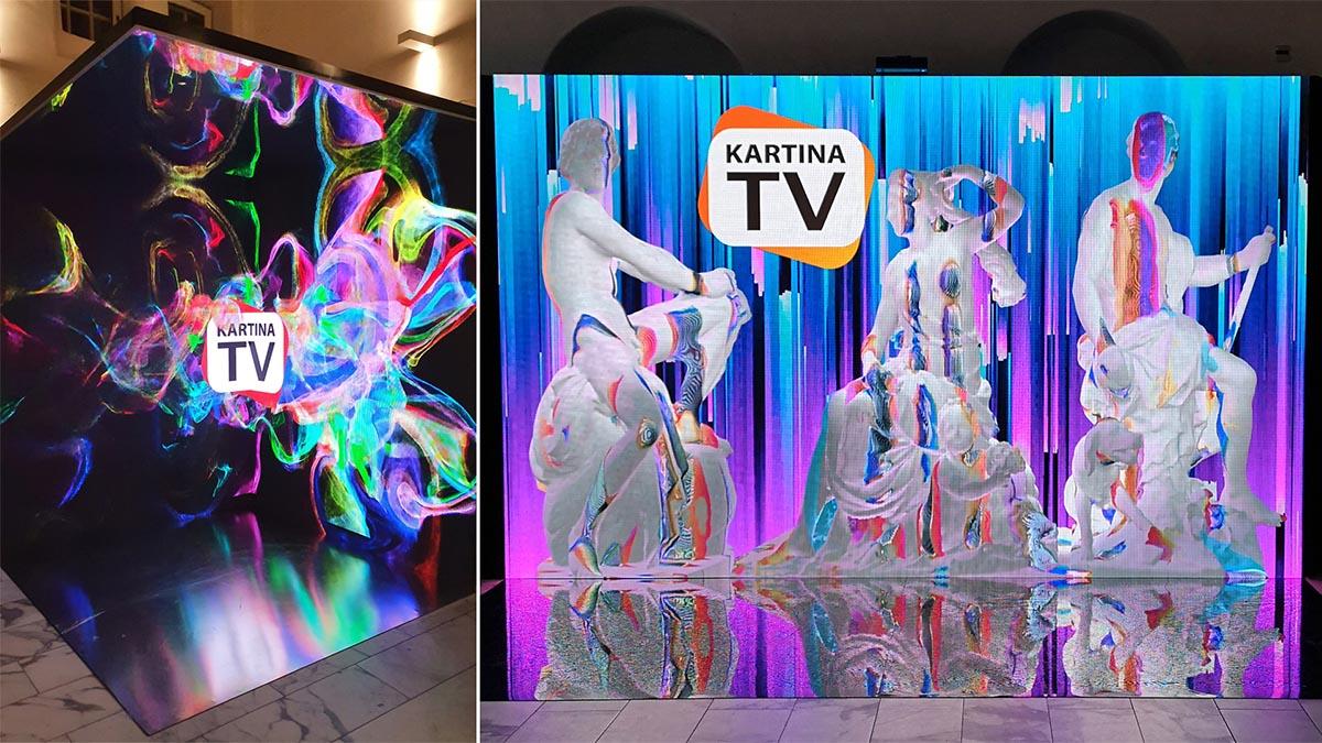 indoor led scherm in scheepvaartmuseum amsterdam tbv promotie activiteit