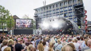 mobiele led video wall huren overijssel - concert twente