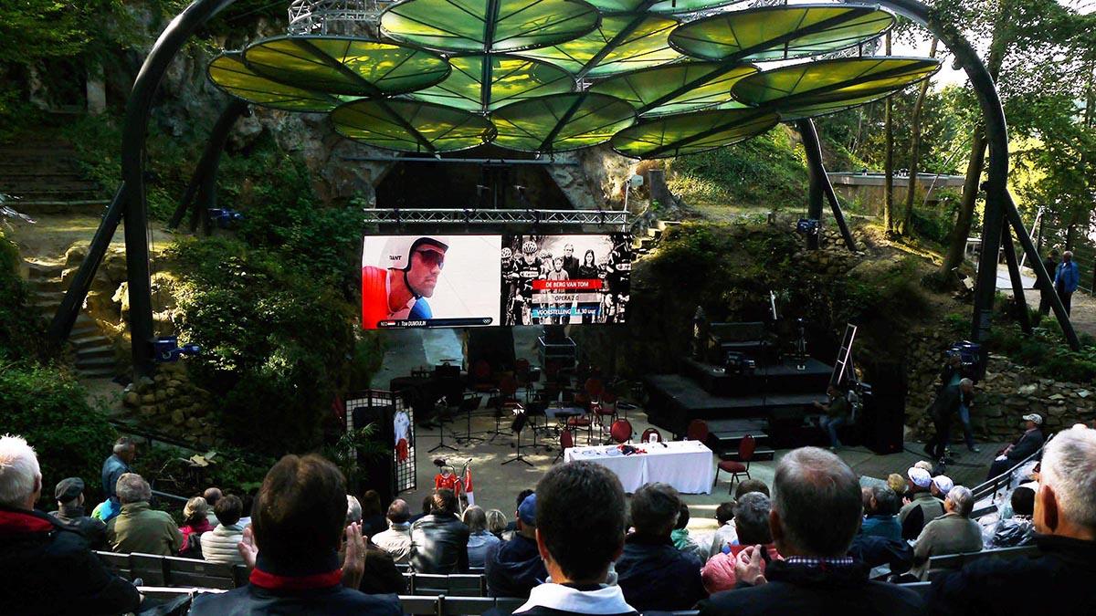 outdoor led scherm verhuur sport evenement