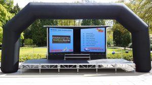 led podiumwagen huren overijssel drenthe gelderland