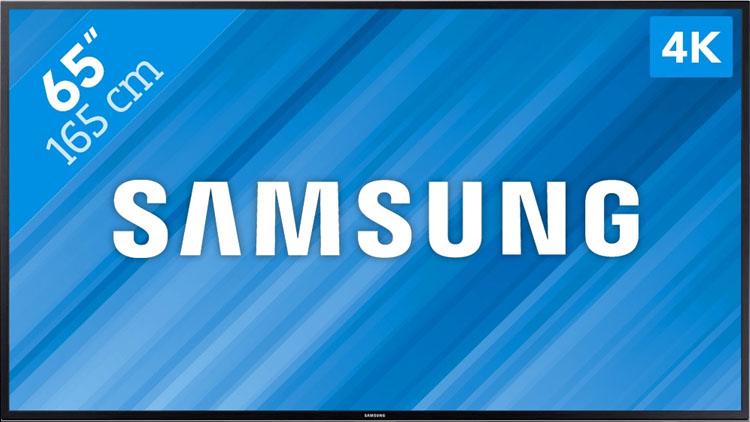 65 inch 4k tv te huren vanaf 155 euro