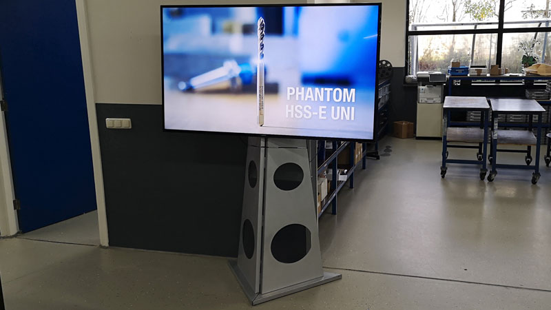 65 inch televisie op standaard in almelo