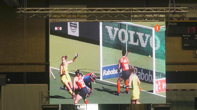 groot scherm huren tijdens olympische spelen