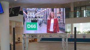 presentatie set d huren - groot scherm en geluid huren